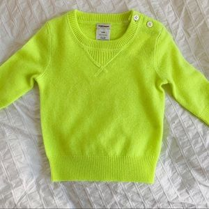 Crewcuts Cashmere Baby Sweater